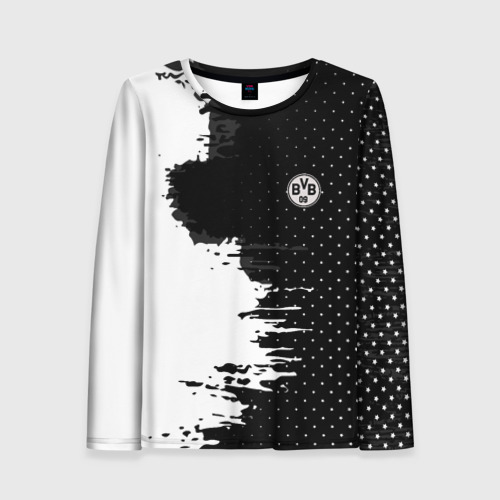 Женский лонгслив 3D Borussia uniform black 2018