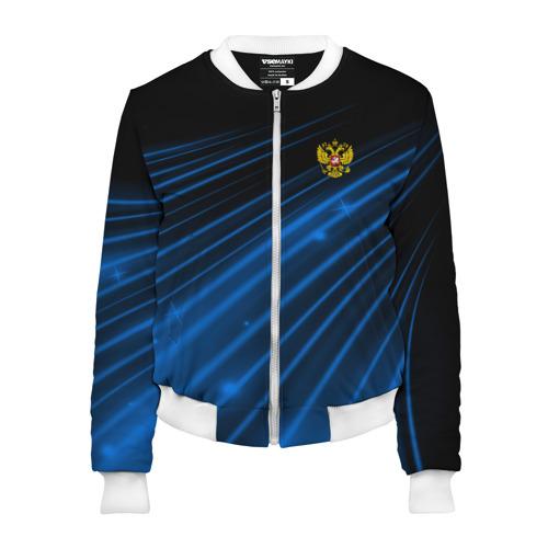 Женский бомбер 3D Russia Sport 2018 uniform