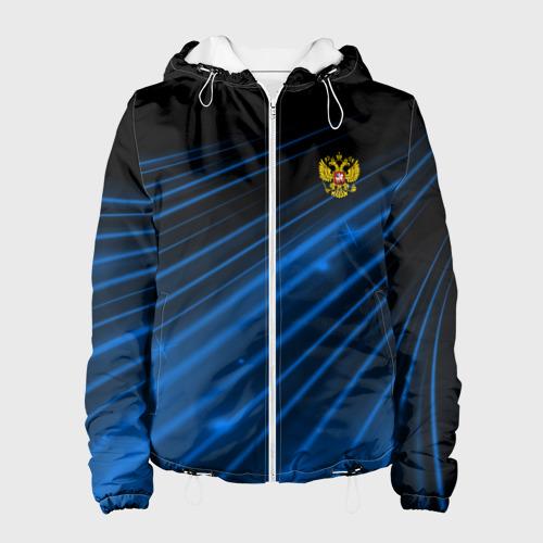 Женская куртка 3D Russia Sport 2018 uniform