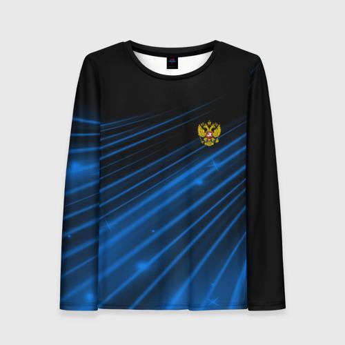 Женский лонгслив 3D Russia Sport 2018 uniform