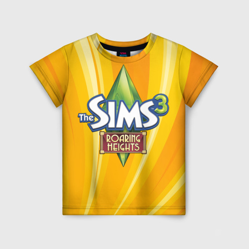 Детская футболка 3D The Sims