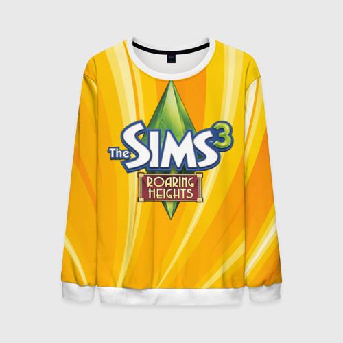 Мужской свитшот 3D The Sims