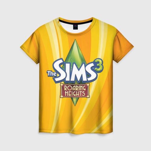 Женская футболка 3D The Sims