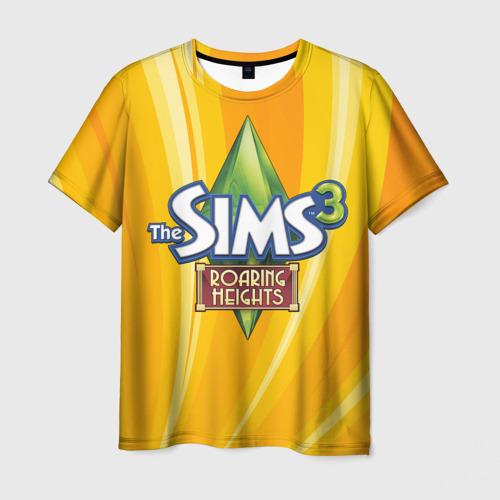 Мужская футболка 3D The Sims