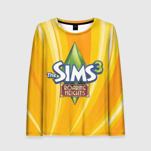 Женский лонгслив 3D The Sims