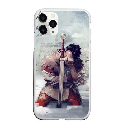 Чехол для iPhone 11 Pro Max матовый Kingdom Come