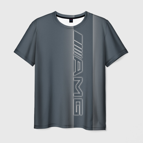 Мужская футболка 3D AMG-neon W