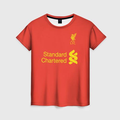 Женская футболка 3D Форма Дэниэл Старридж