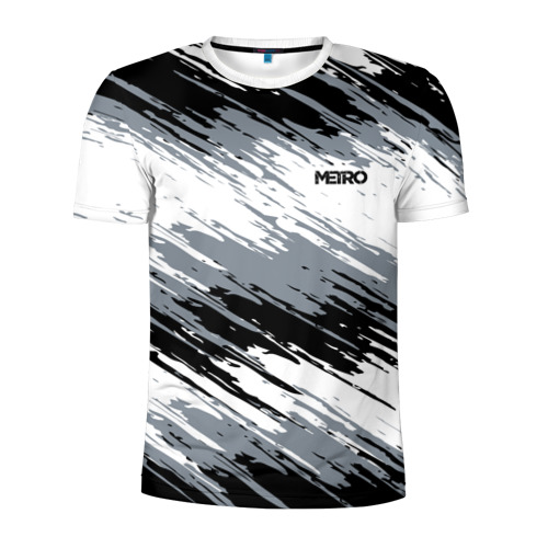 Мужская футболка 3D спортивная METRO