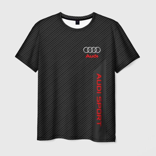 Мужская футболка 3D AUDI   АУДИ