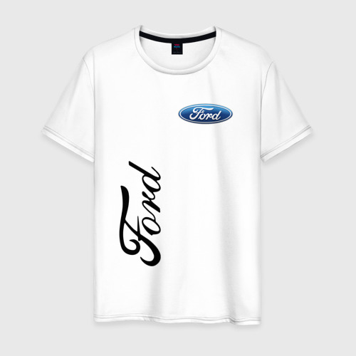 Мужская футболка хлопок Ford