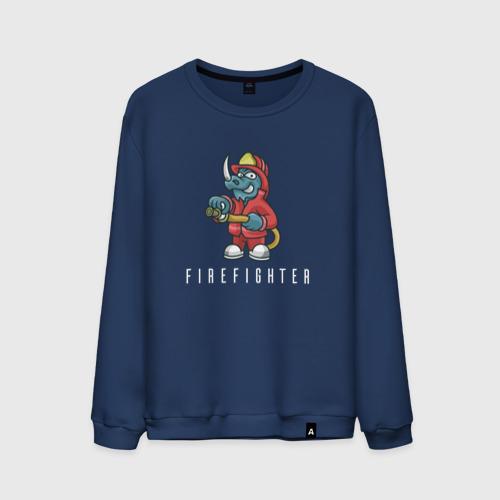 Мужской свитшот хлопок Пожарный
