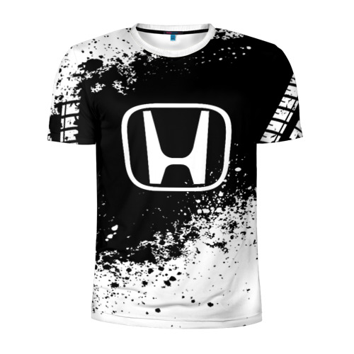 Мужская футболка 3D спортивная Honda abstract sport