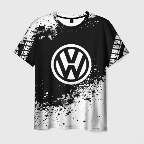 Мужская футболка 3D Volkswagen abstract sport