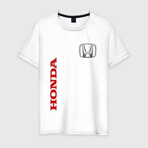 Мужская футболка хлопок Honda