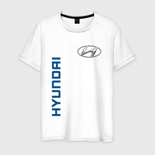 Мужская футболка хлопок Hyundai