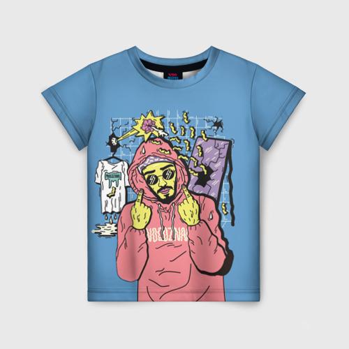 Детская футболка 3D  Mnogoznaal 4