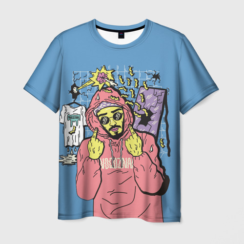 Мужская футболка 3D  Mnogoznaal 4