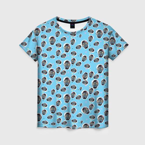 Женская футболка 3D  Mnogoznaal_8
