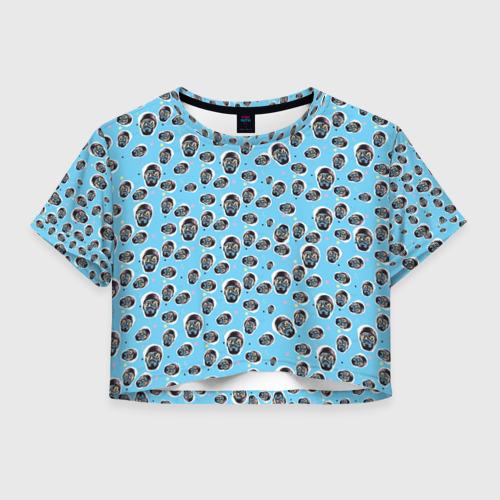 Женская футболка Crop-top 3D  Mnogoznaal_8