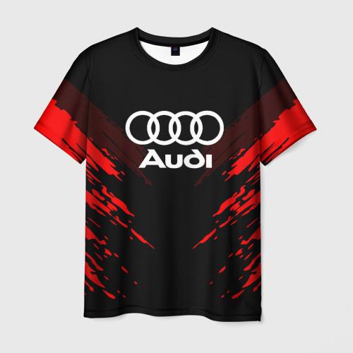 Мужская футболка 3D AUDI SPORT COLLECTION