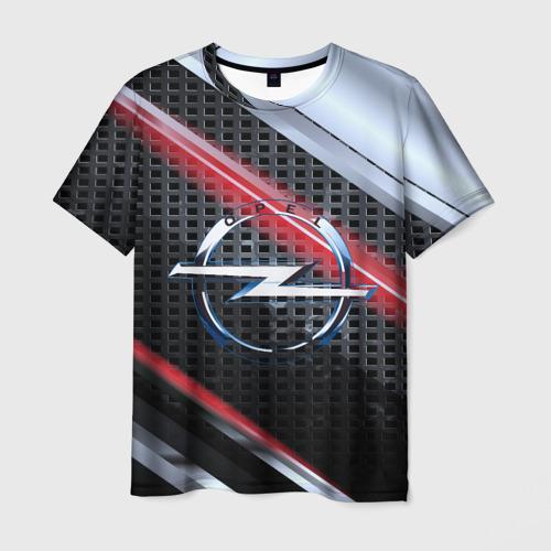 Мужская футболка 3D OPEL high speed collection