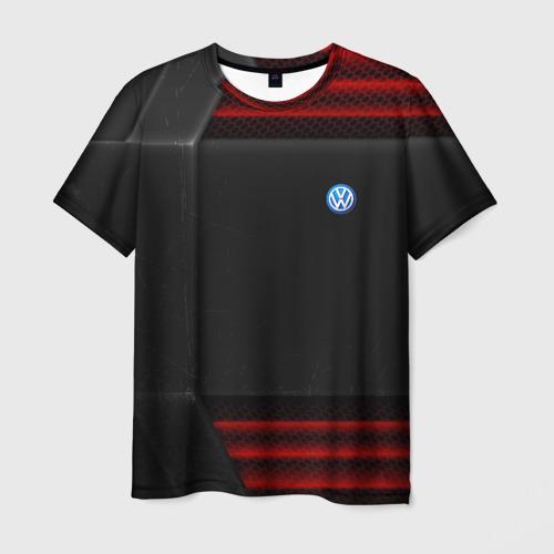 Мужская футболка 3D Volkswagen auto sport