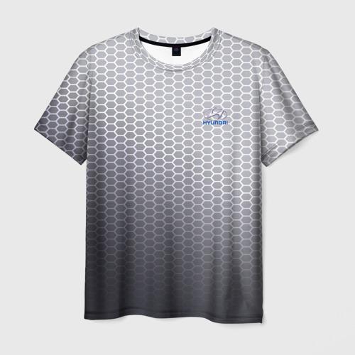 Мужская футболка 3D HYUNDAI carbon uniform 2018