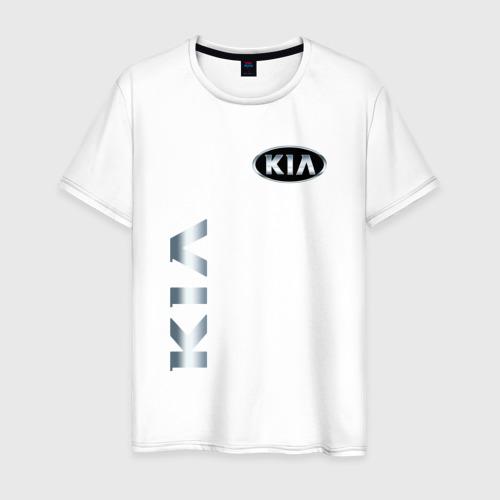 Мужская футболка хлопок Kia