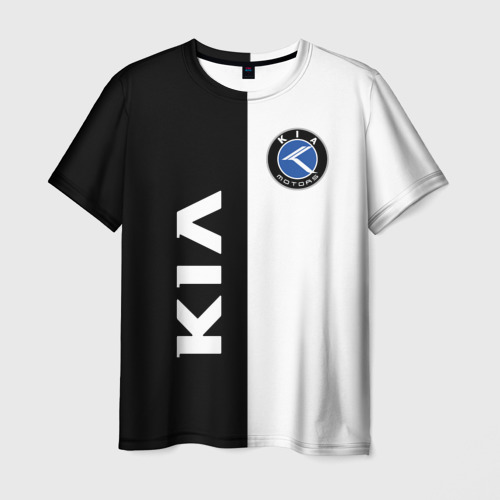 Мужская футболка 3D Kia Motors
