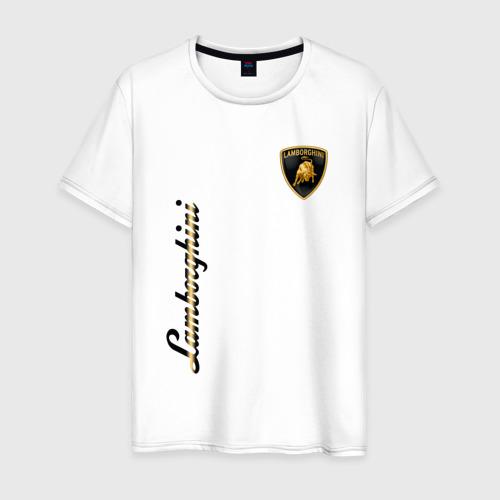 Мужская футболка хлопок Lamborghini