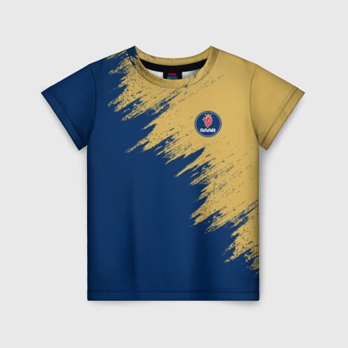 Детская футболка 3D SAAB