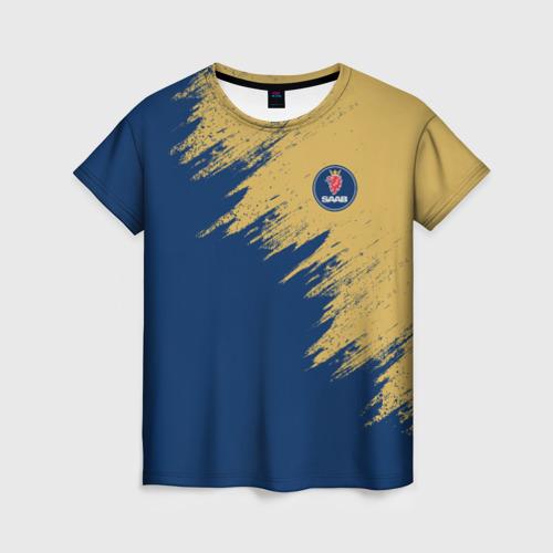 Женская футболка 3D SAAB