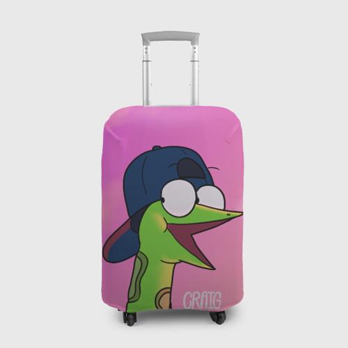 Чехол для чемодана 3D Удав Крейг