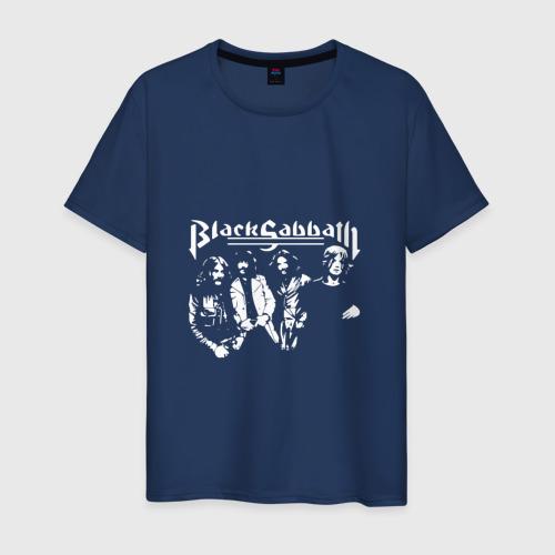 Мужская футболка хлопок Группа Black Sabbath