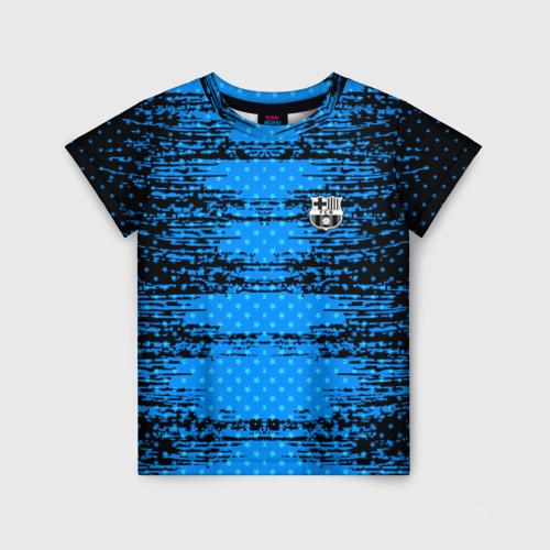 Детская футболка 3D Barcelona sport uniform