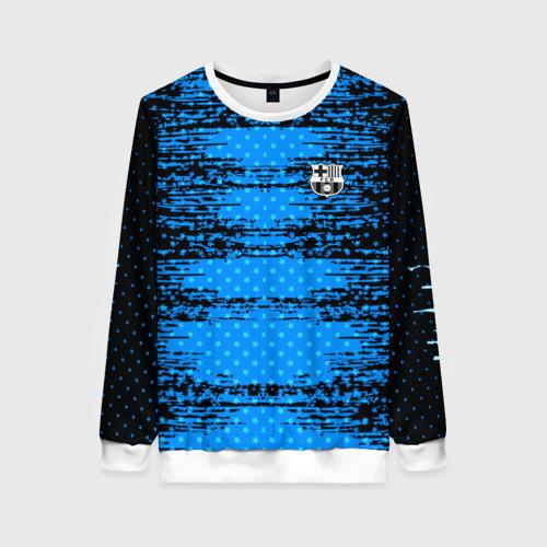 Женский свитшот 3D Barcelona sport uniform