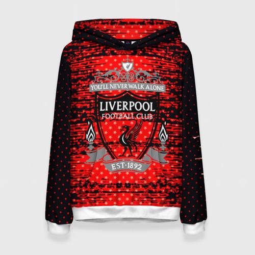 Женская толстовка 3D Liverpool sport uniform