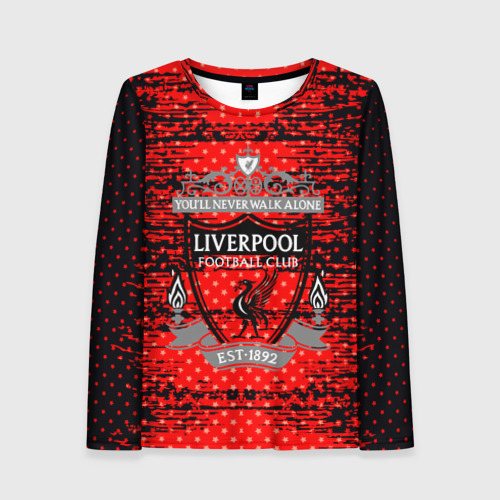 Женский лонгслив 3D Liverpool sport uniform