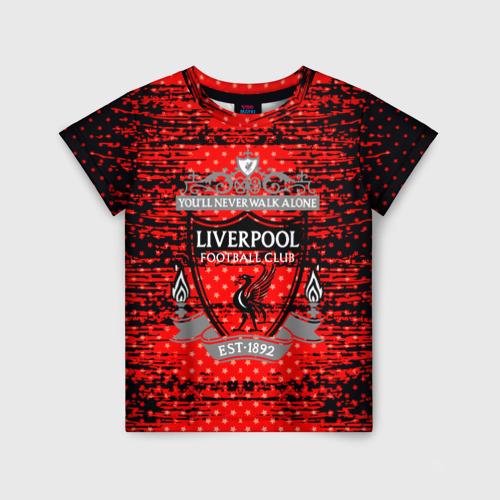 Детская футболка 3D Liverpool sport uniform