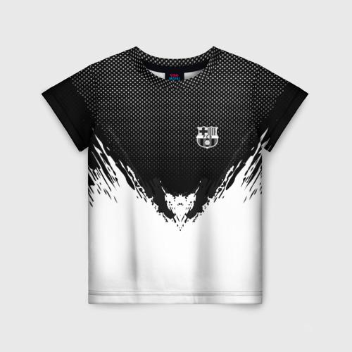 Детская футболка 3D Barcelona black 2018