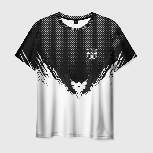 Мужская футболка 3D Barcelona black 2018