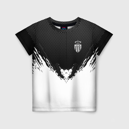 Детская футболка 3D Monaco black 2018