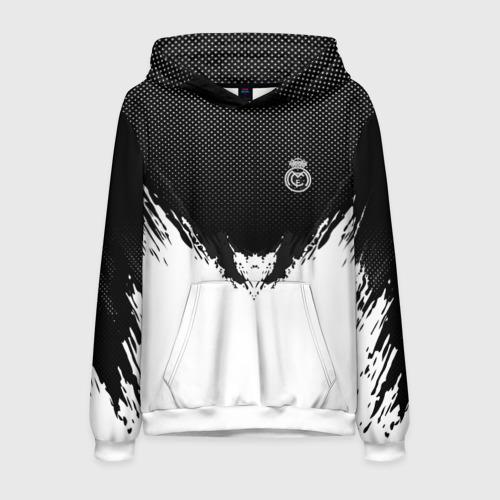 Мужская толстовка 3D Real Madrid black 2018