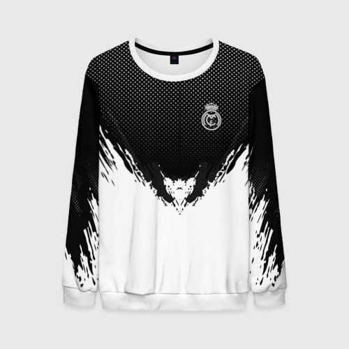 Мужской свитшот 3D Real Madrid black 2018