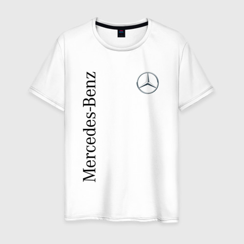 Мужская футболка хлопок Mercedes-Benz