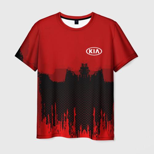 Мужская футболка 3D KIA SPORT COLOR