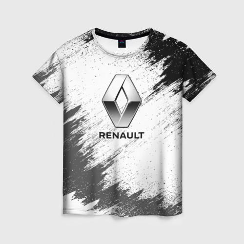 Женская футболка 3D Renault