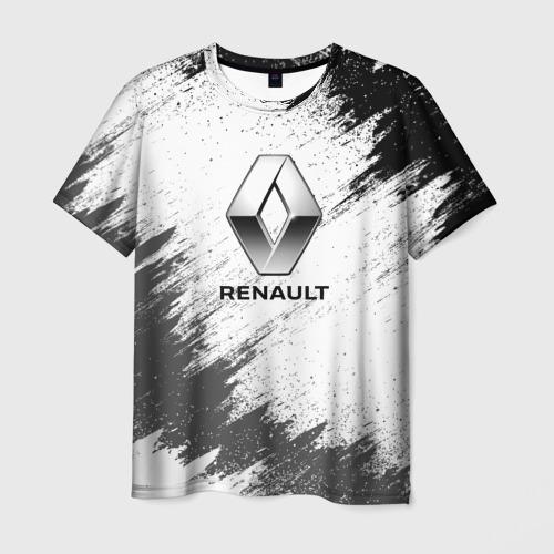 Мужская футболка 3D Renault