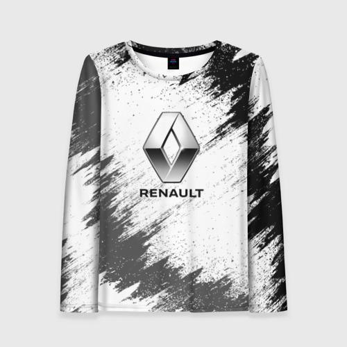 Женский лонгслив 3D Renault